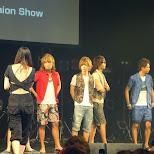 Men's EGG fashion show in Shibuya, Tokyo, Japan