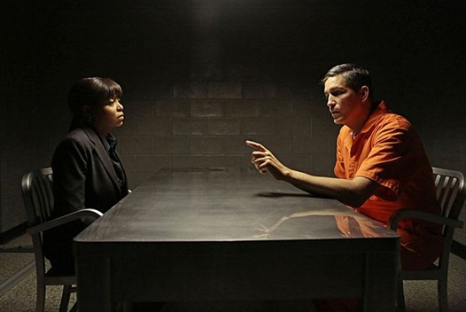 """""""Prisoner's Dilemma"""" -- Carter (Taraji P. Henson) engages in mental warfare with the FBI to help Reese (Jim Caviezel) evade Agent Donnelly's narrowing focus, on """"PERSON OF INTEREST,"""" Thursday, Jan. 10 (9:00 – 10:00 PM, ET/PT) on the CBS Television Network.   Photo: Giovanni Rufino/Warner Bros ©2013 Warner Bros. Television All Rights Reserved"""