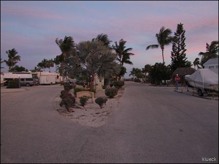 road in Sunshine Key