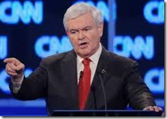 Gingrich Forceful