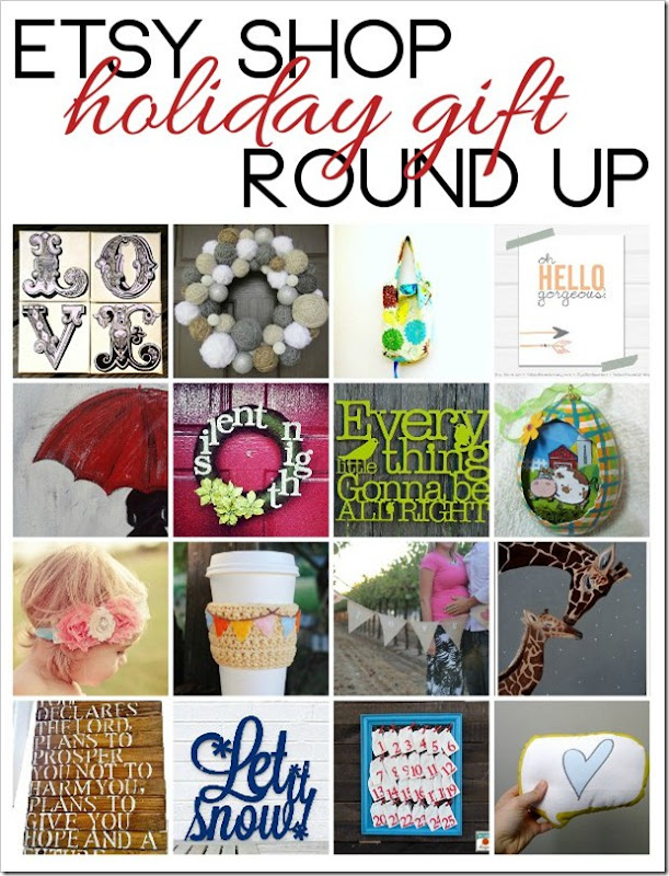 PBJstories.com Holiday Gift Idea Round up of Etsy Shops