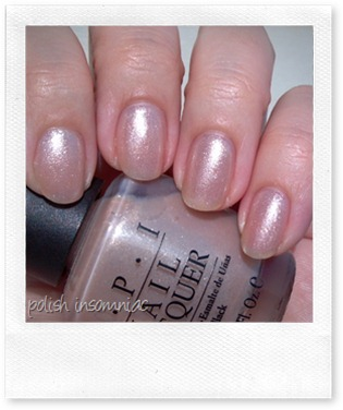 OPI Hollywood Blonde 3