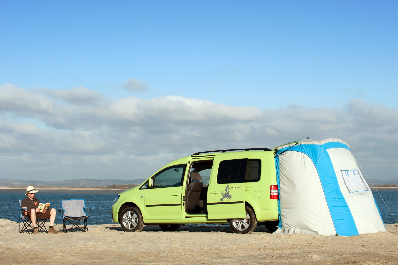 volkswagen caddy maxi camper is the camping van for the. Black Bedroom Furniture Sets. Home Design Ideas
