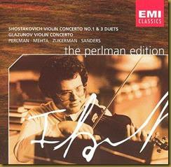 Shostakovich Concierto para violin 1 Perlman Mehta