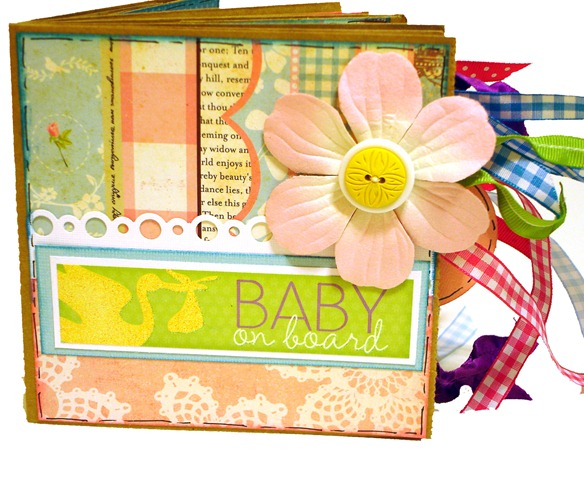 Baby on Board Scrapbook 1