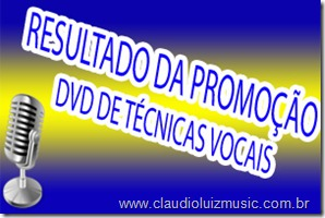 RESULTADO PROMOÇÃO DVD