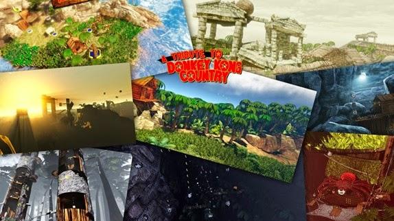 A Trinte to Donkey Kong Country: Jogo feito por fã baixe e jogue