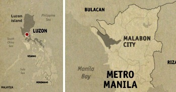 Malabon Location Map