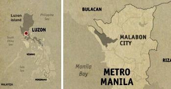 Malabon Location Map