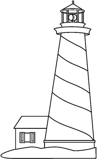 coloring pages 187 lighthouse coloring pages