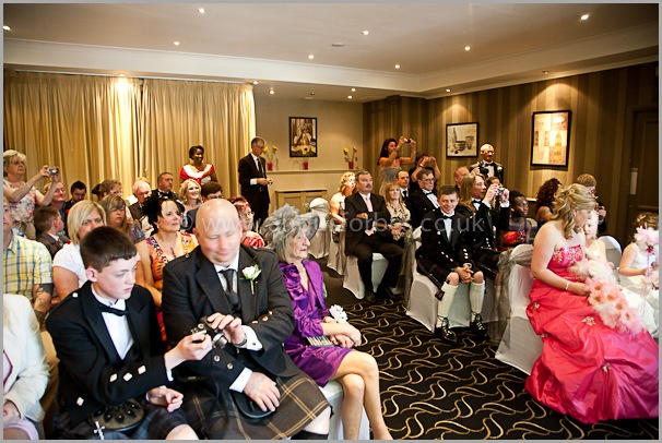 guests wedding photography at the cults hotel aberdeen