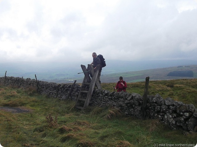 ray climbs a stile