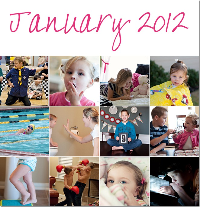 January 2012 Collage