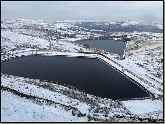 Cragg High Level Tank and Cowpe Reservoir