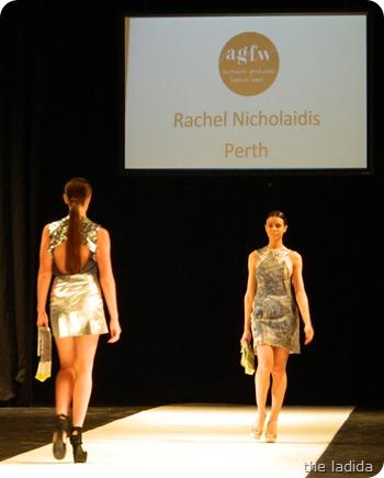 Rachel Nicholaidis - AGFW Fashion Show (2)