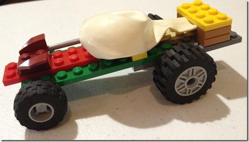 Lego Balloon Car