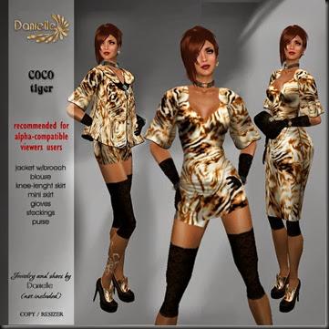 DANIELLE Coco Tiger'