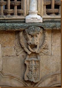 Salamanca Palacio patio N
