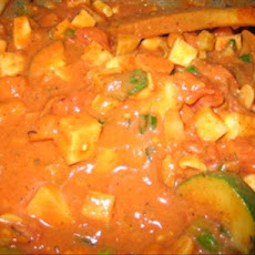 West African Groundnut Stew (Mafe)