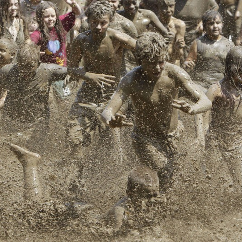 Michigan Residents Celebrate Annual Mud Day