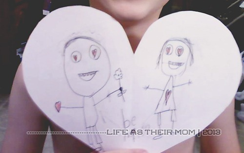 v-day - life as their mom