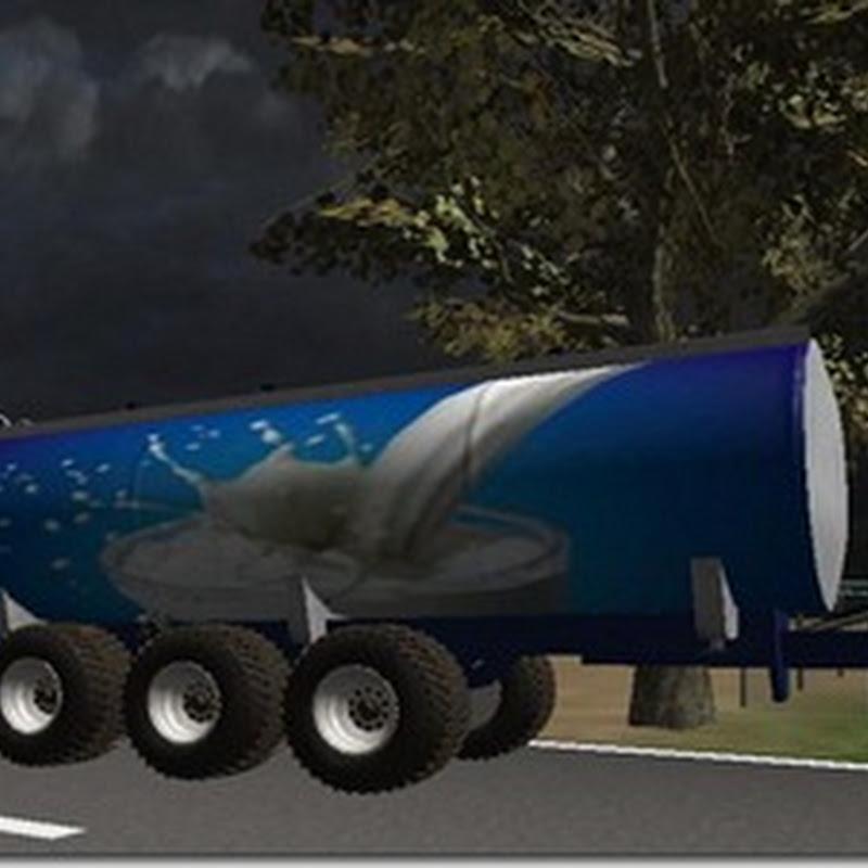 Farming simulator 2011 - 20000 Liters MilkTrailer