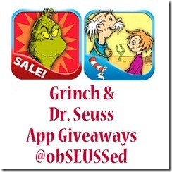 Seuss App Giveaway ObSEUSSed