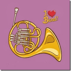 2x2FrenchHornSticker