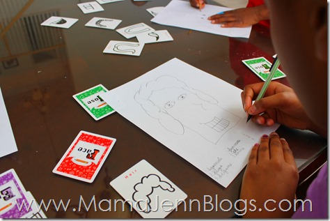 Using The Big Book of Pick and Draw Activities