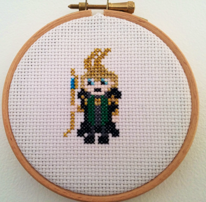 Loki Cross Stitch