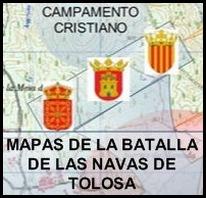 Mapas de la Batalla de Las Navas