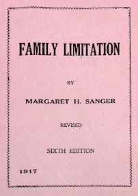 Cover of Margaret Sanger's Book Family Limitation