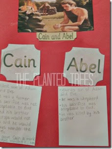 Cain and Abel lapbook