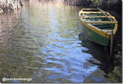 Barco no Rio Sagi