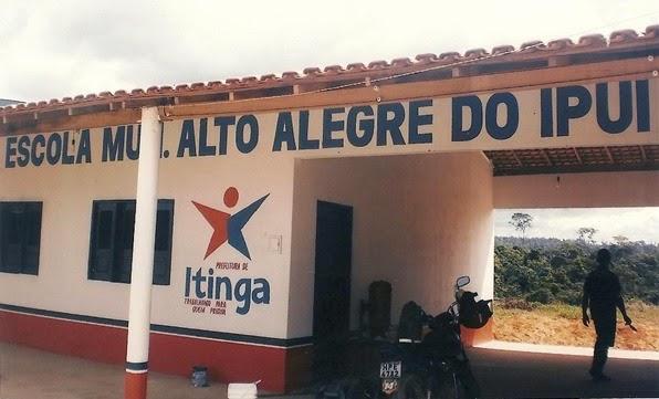 Escola Alto Alegre do Ipuí construída por Vete Botelho