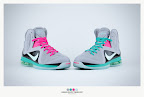 nike lebron 9 ps elite grey candy pink 9 09 sneakerbox LeBron 9 P.S. Elite Miami Vice Official Images & Release Date