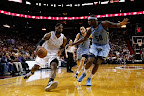 lebron james nba 130301 mia vs mem 15 LeBron Debuts Prism Xs As Miami Heat Win 13th Straight