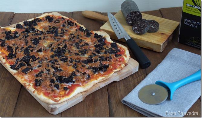 pizza morcilla espe saavedra