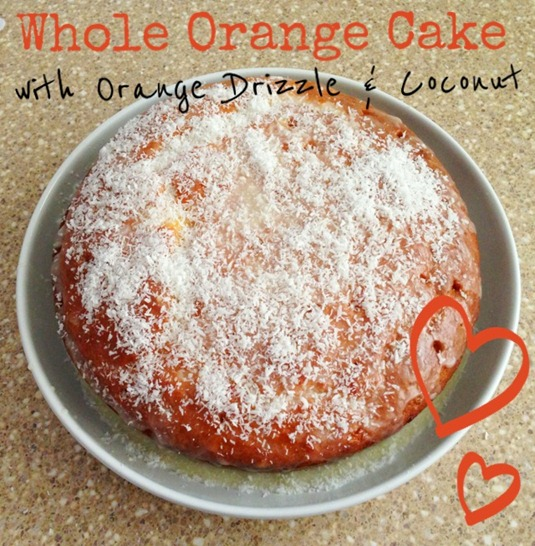 Whole Orange Cake Recipe