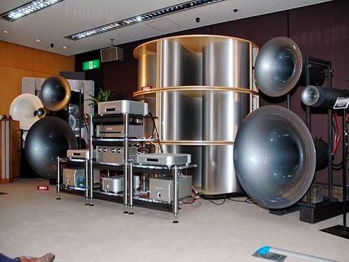 Huge sound system