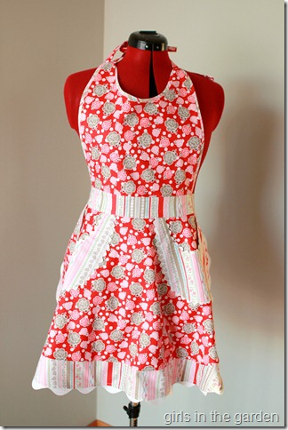 whimsical apron