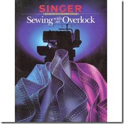 singer overlock book