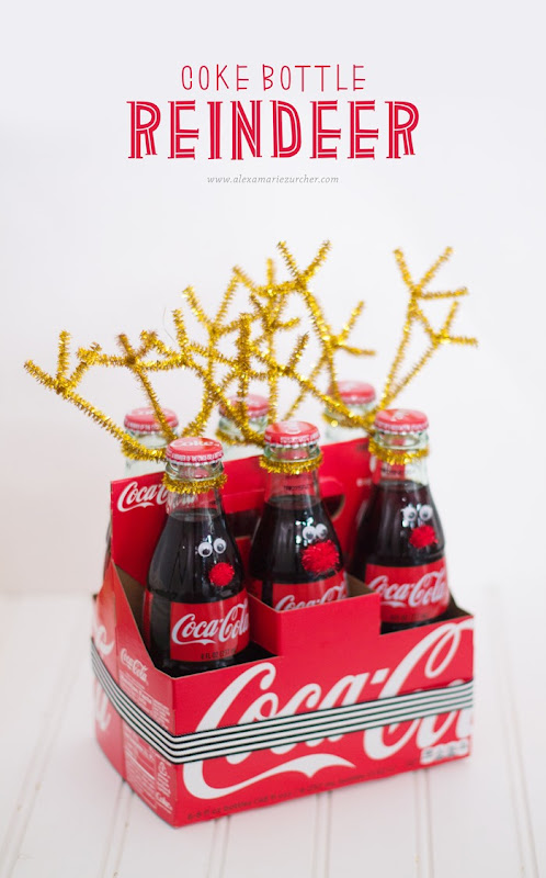 coke bottle reindeer #RealMagic #Ad #Cbias