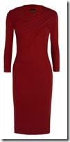 Vivienne Westwood Anglomania Plum Stretch Jersey Dress