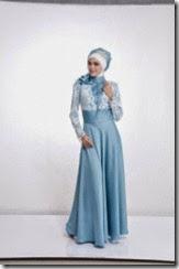 gaun pesta pernikahan muslimah