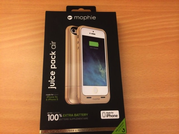 Mophie juice pack air for iPhone5s1