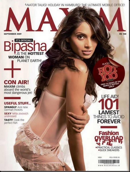 Bipasha-Basu-Maxim-India-Cover-Page