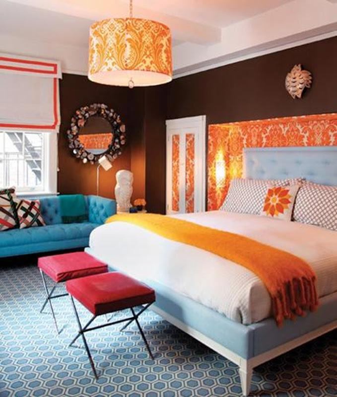 decorao cor-de-laranja