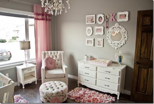 Project Nursery Pink Gray