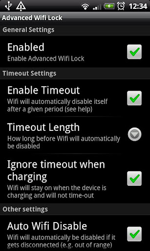 Advanced Wifi Lock